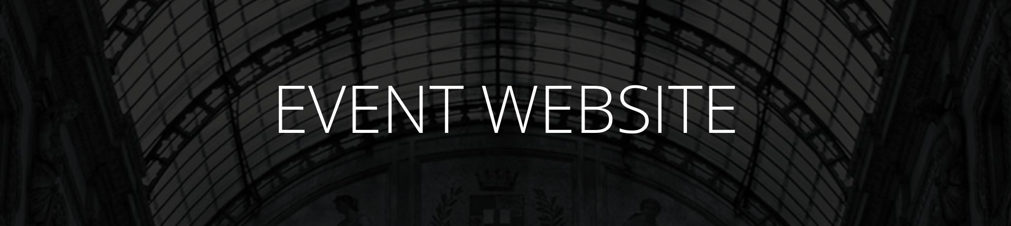 Event website milano